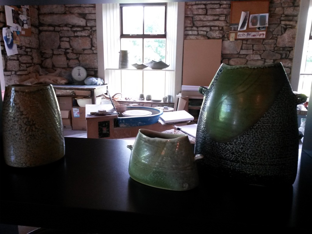 Mandy Parslow, Ceramics studio, Glen of Aherlow, Co. Tipperary, Ireland