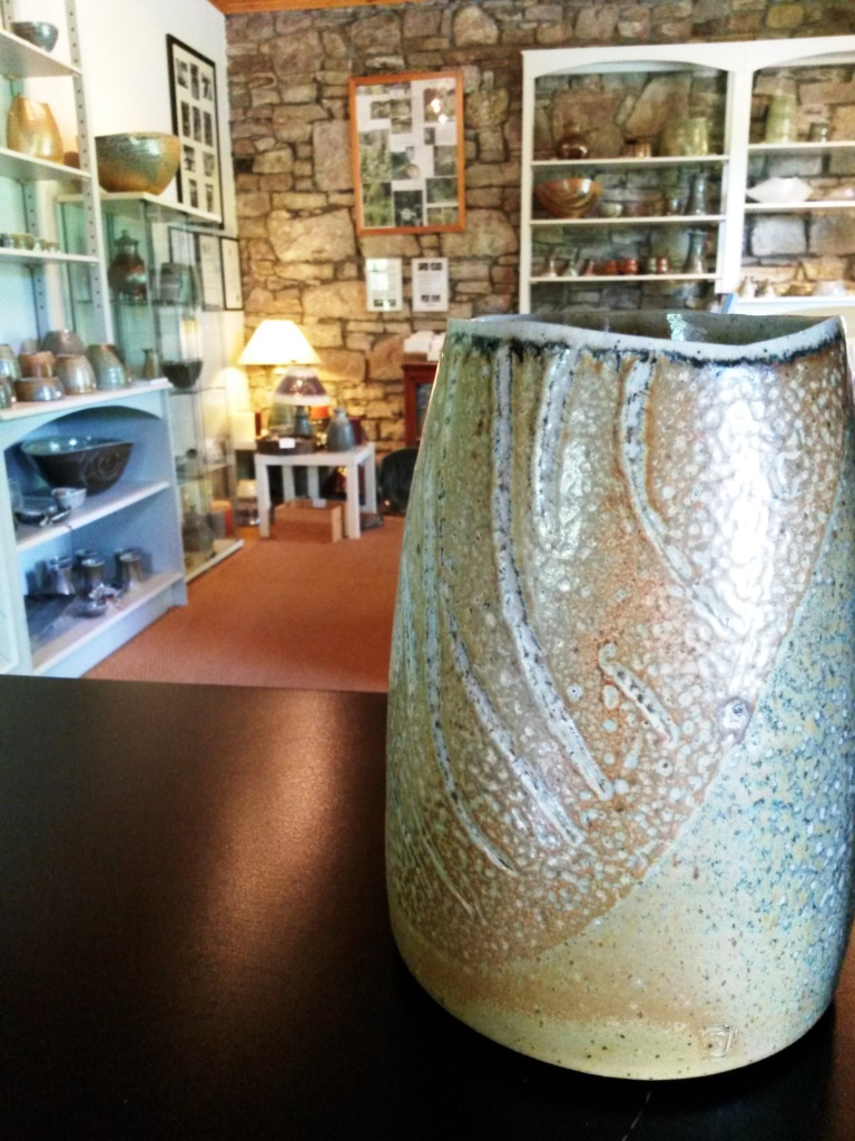 Studio pottery showroom, Glen of Aherlow, Co. Tipperary, Ireland