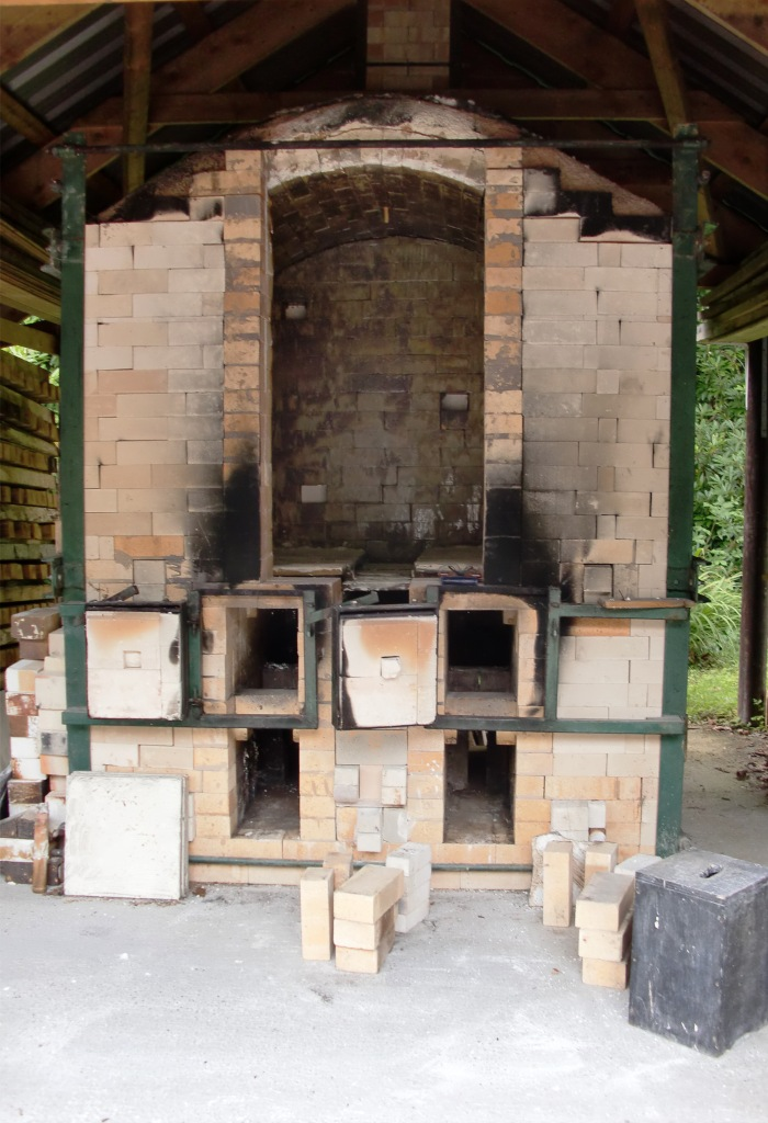 Wood-fired salt-glazed kiln, Glen of Aherlow, Co. Tipperary, Ireland